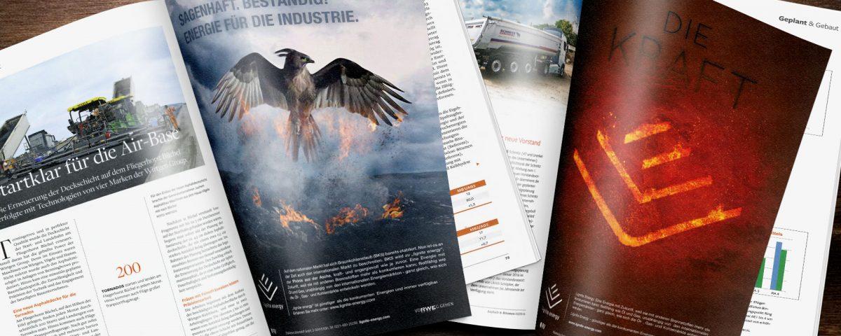 20Fuenfzehn - Portfolio - Lignite Energy - Sagenhaft / Feuertiere - Header