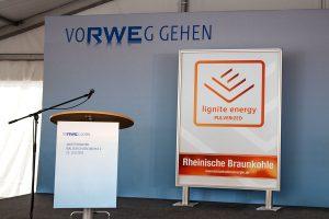 Rheinbraun Brennstoff - WSM Eröffnung - Detail