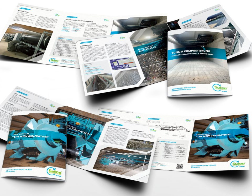 20Fuenfzehn - Portfolio - Sutco RecyclingTechnik - Referenzbroschüren - Header