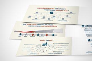 Consult|ING - QUBE|ING - Flyer, Broschüren und Rollups - Detail