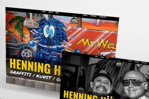 Henning Hüttner - Webseite - Detail