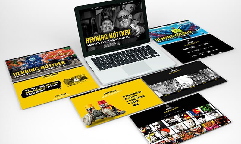 Henning Hüttner - Webseite - Teaser