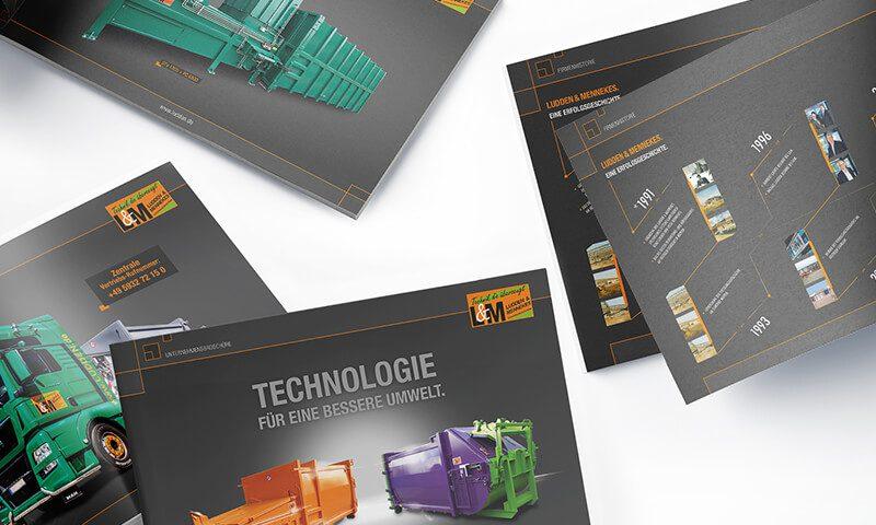 Ludden & Mennekes Entsorgungs-Systeme GmbH - Unternehmenesbroschüre - Teaser