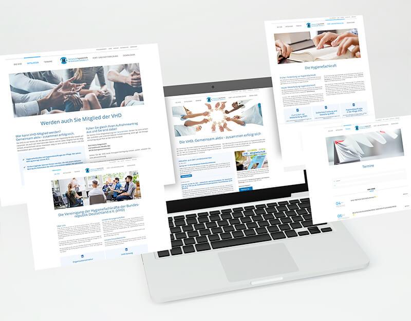 VHD - Vereinigung der Hygienefachkräfte Deutschlands e.V. - Webseite - Teaser