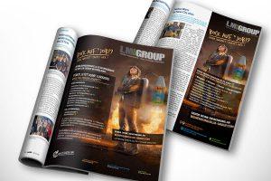 Anzeigenkampagne in verschiedenen Publikationen