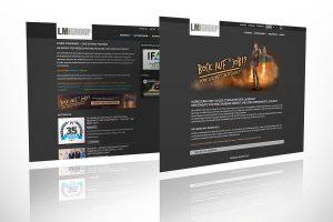 Job-Portal mit allen Ausbildungsstellen und Leitmotiv auf LM-GROUP Webseite