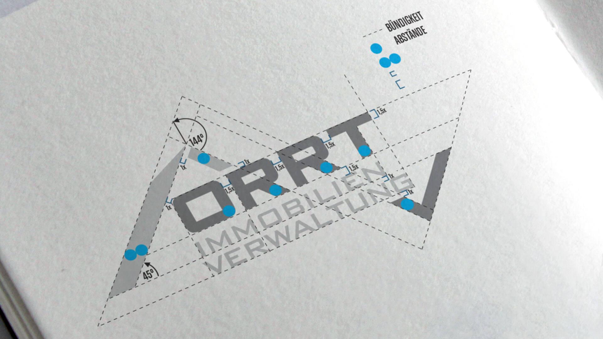 ORRT Immobilienverwaltung - Geschäftsausstattung - Header