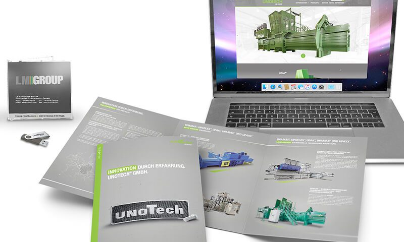 unoTech - Corporate Design - Teaser